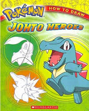 HOW TO DRAW POKEMONE: JOHTO HEROES