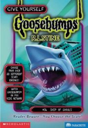 GOOSEBUMPS GIVE YOURSELF: SHIP OF GHOULS