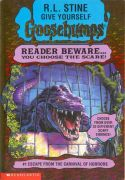 GOOSEBUMPS GIVE YOURSELF: ESCAPE FROM THE CARNIVAL OF HORRORS height=