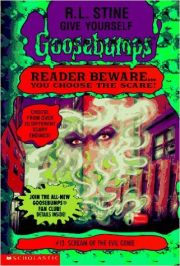 GOOSEBUMPS GIVE YOURSELF: SCREAM OF THE EVIL GENIE