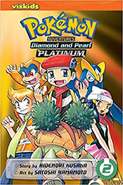POKEMON ADVENTURES 2 DIAMOND AND PEARL PLATINUM