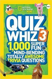 NATIONAL GEOGRAPHIC KIDS QUIZ WHIZ 3 height=