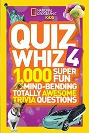 NATIONAL GEOGRAPHIC KIDS QUIZ WHIZ 4 height=