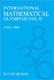 International Mathematical Olympiad Volume II 1976-1990