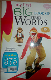 MY FIRST BIG BOOK OF  FIRST WORDS