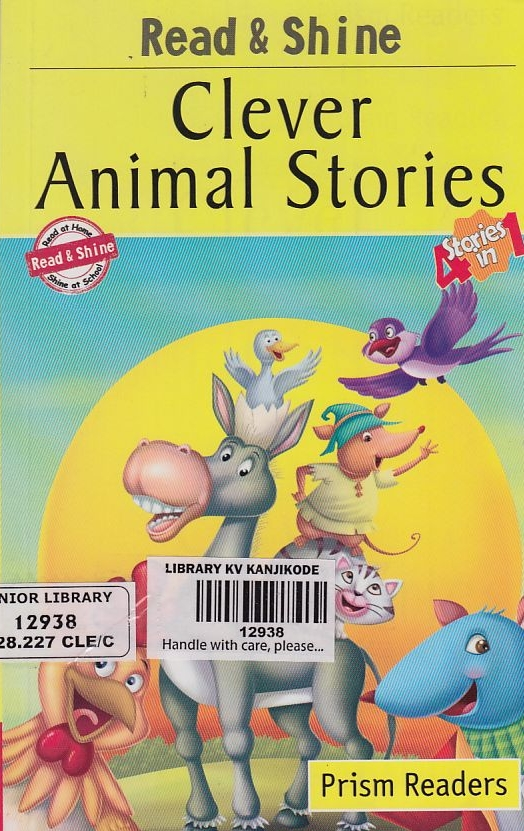 PRISM READERS:  CLEVER ANIMAL STORIES - 4 STORIES IN 1