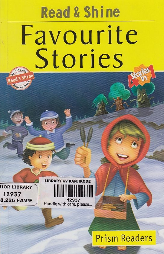 PRISM READERS: FAVOURITE STORIES- 4 STORIES IN 1
