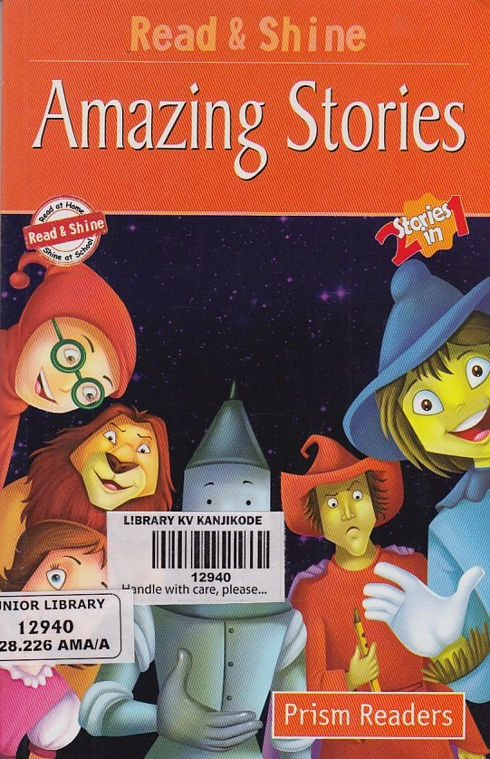 PRISM READERS:  AMAZING STORIES - 2 STORIES IN 1