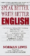 SPEAK BETTER WRITE BETTER ENGLIH height=