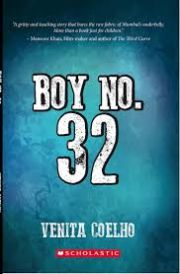 Librarian's Picks - Boy No. 32 by Venita Coelho