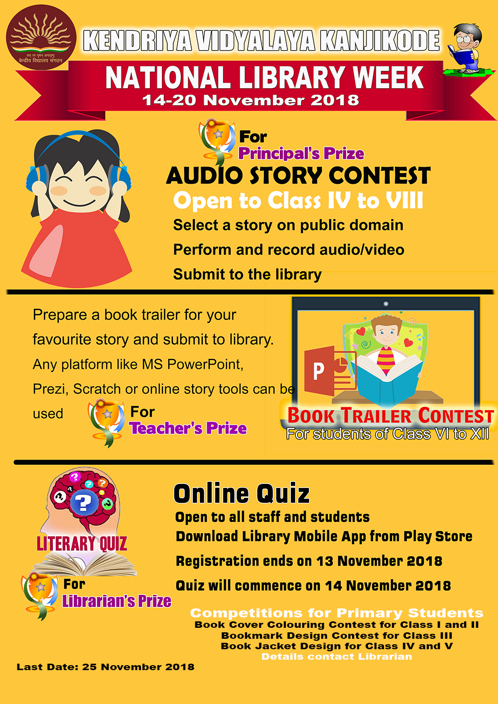 National Library Week - Competitions for Students
