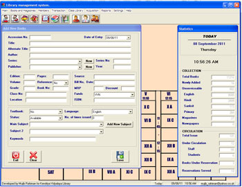 Sharing Librarian: Free Library Software for School Libraries