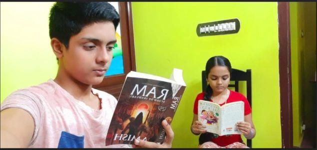 Shrivaths S Nair, X B and Tejashri S Nair, 6 D