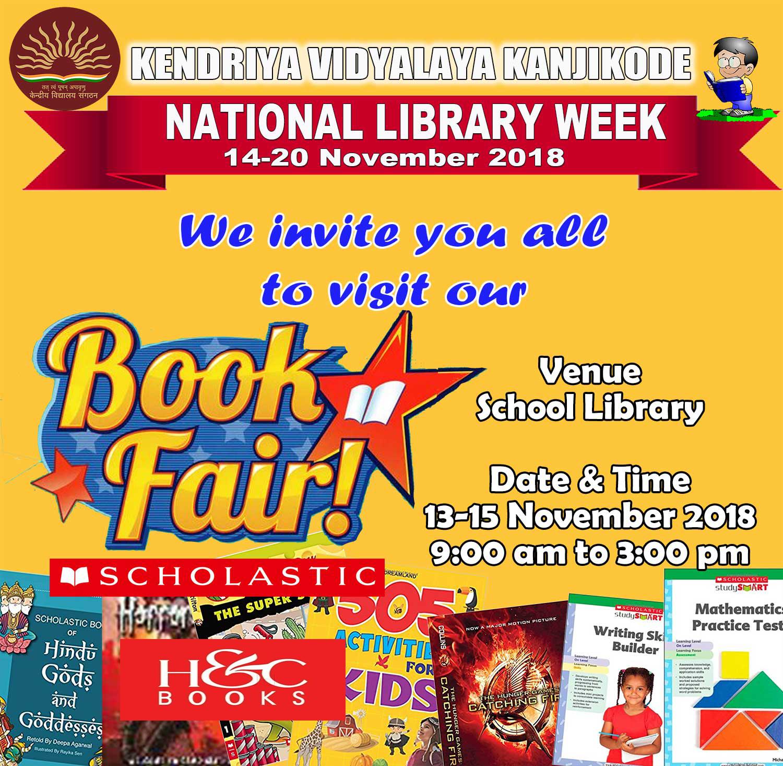 Children's Book Fair - November 13-15, 2018