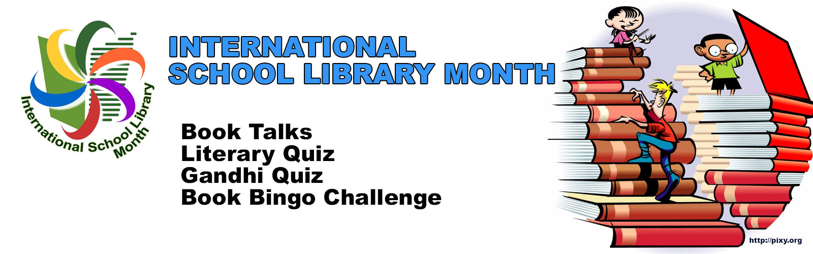 International School Library Month!