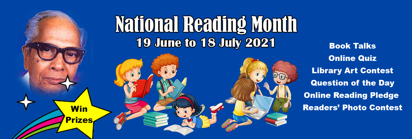National Reading Day & Reading Month