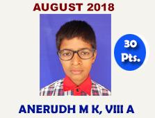 ANERUDH MK, VIII A