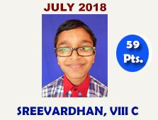 SREEVARDHAN, VIII C