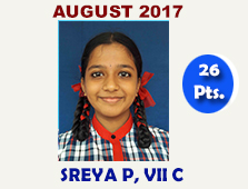 Sreya P, VII C