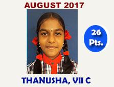 Thanusha, VII C