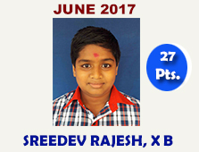 Sreedev Rajesh, X C