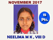 Neelima MK, VIII D