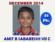 Sanjay C Sekhar, VI C