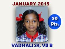 Vaishali SK, VII B