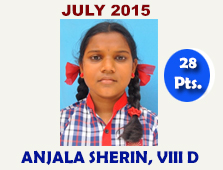 Anjala Sherin, VIII D
